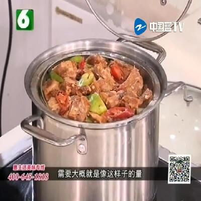 血脉贲张下饭菜——豉椒土豆排骨