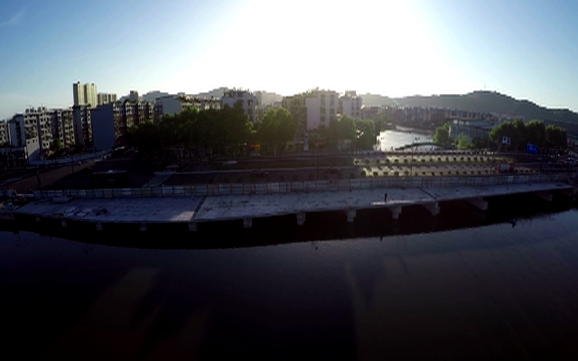 俯瞰美丽家园:南江公园,过神仙一般的日子