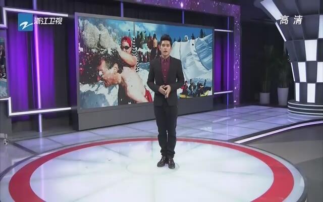 哈尔滨:冰王挑战赛太刺激