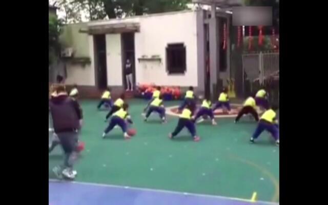 看幼儿园小朋友们如何称霸NBA
