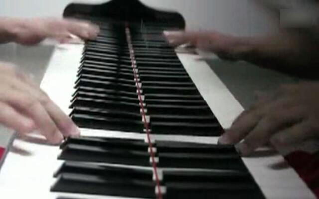 超级疯狂!钢琴演奏摇滚卡农
