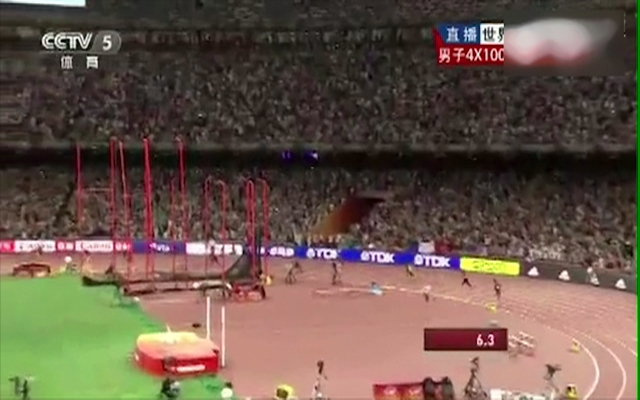中国男子4×100米接力创造历史!