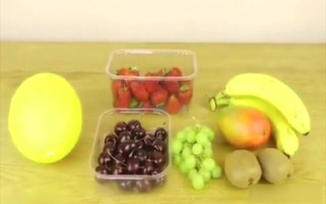 关于水果的创意吃法