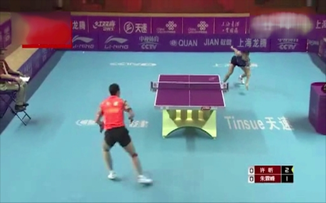 一分钟告诉你中国的乒乓球有多牛!