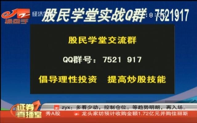 20150924《证券直播室》:沪指缩量震荡  险守20天均线