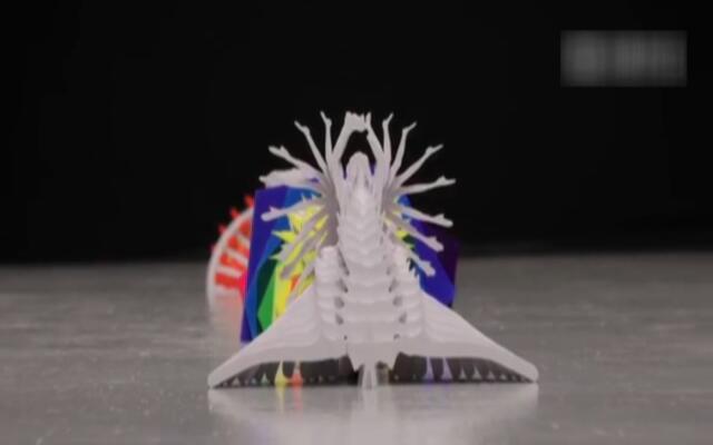 折纸和定格特效合成的创意视频