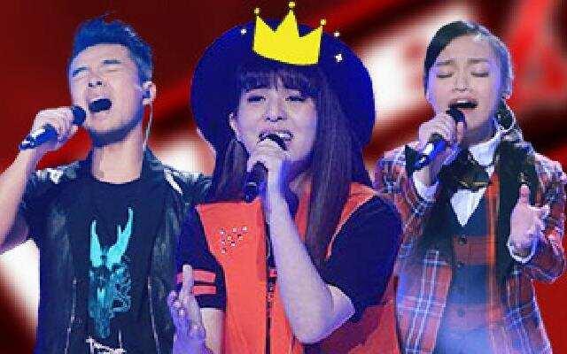 第四季《中国好声音》第11周学员人气榜