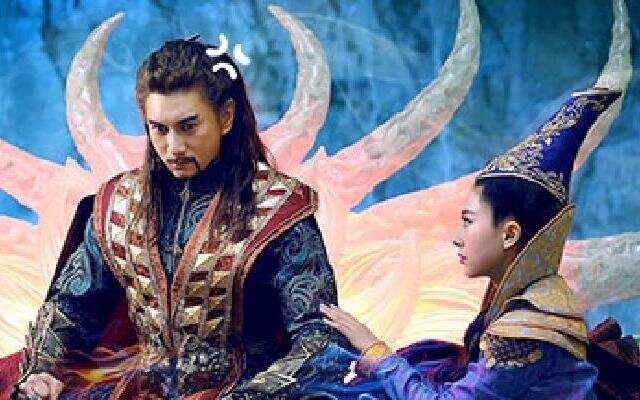 """进击的剧务霸:吴奇隆""""绿袍上身""""为了爱  《蜀山战纪》你来洒狗血的么"""