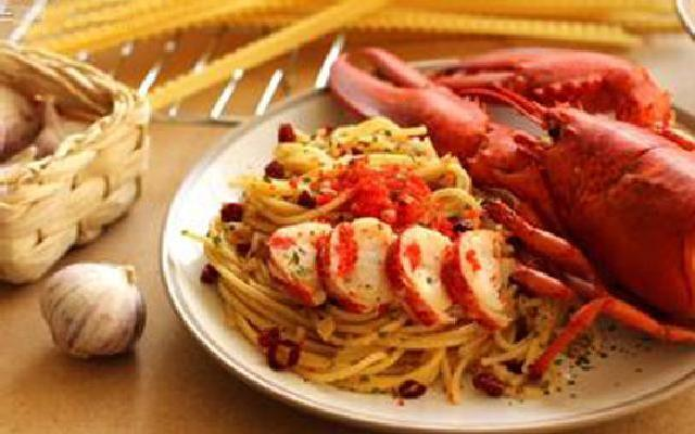 经典美味:大龙虾意面