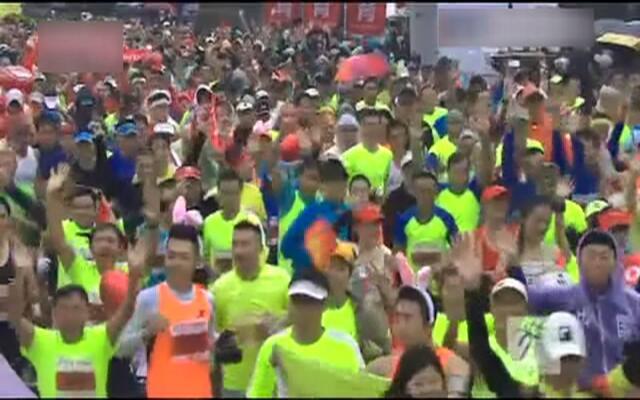 2015杭马开跑