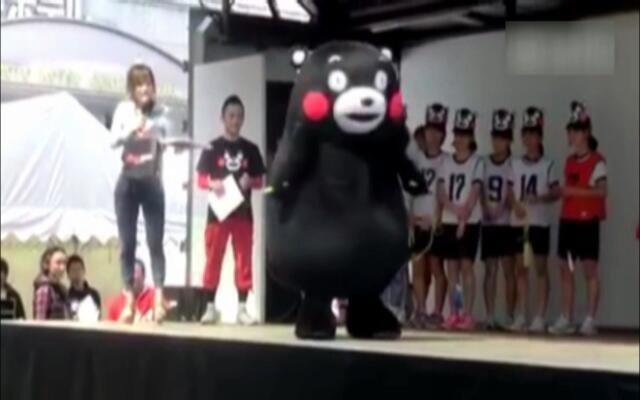 熊本熊跳绳