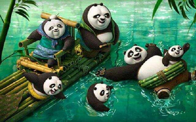 功夫熊猫3:阿宝认亲变身呆萌鲜师
