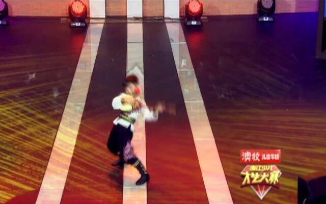 浙江少儿才艺大赛之舞蹈《可爱的一朵玫瑰花》