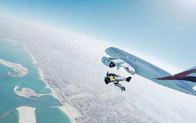 喷气飞人与空客A380 齐飞