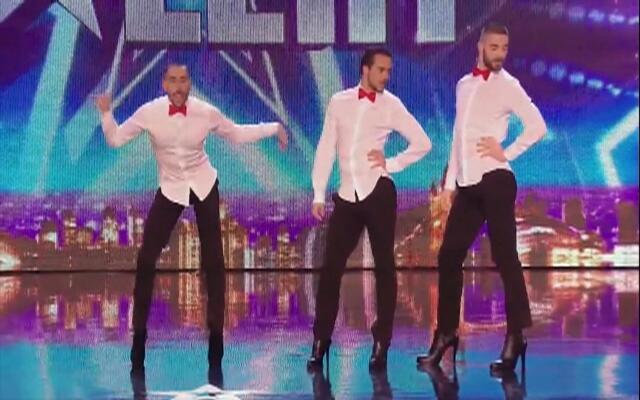 法国高跟鞋妖男编舞大师Yanis的达人秀表演
