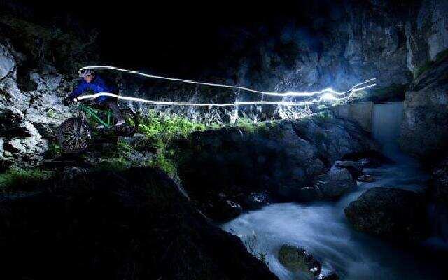 最梦幻的山地自行车之夜