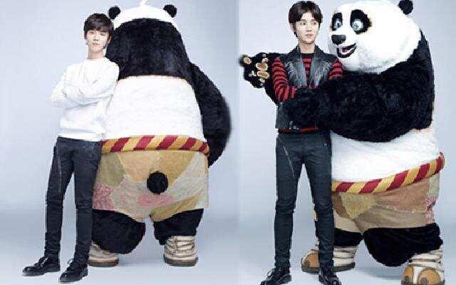 《功夫熊猫3》鹿晗首次献声动画电影上演鹿与熊猫奇遇记