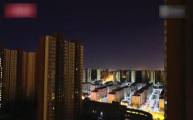 延时摄影记录北京雾霾消散全过程
