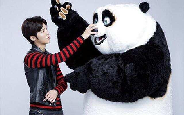 《功夫熊猫3》官方推广曲之鹿晗《海底》