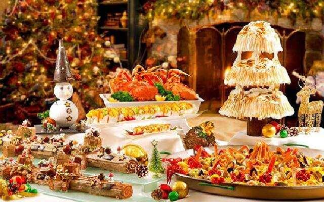 美食的圣诞节冒险