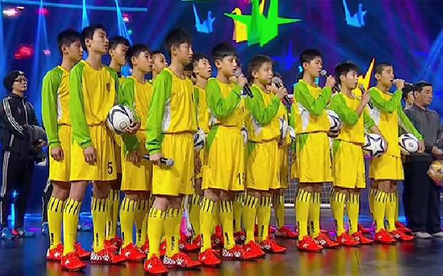 """第174期:足球少年为报答恩人""""卖拖鞋"""""""