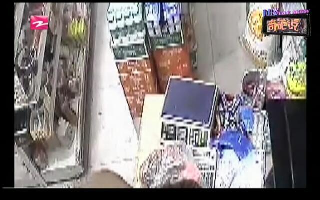万万没想到:男子抢劫超市  竟是为了买彩票