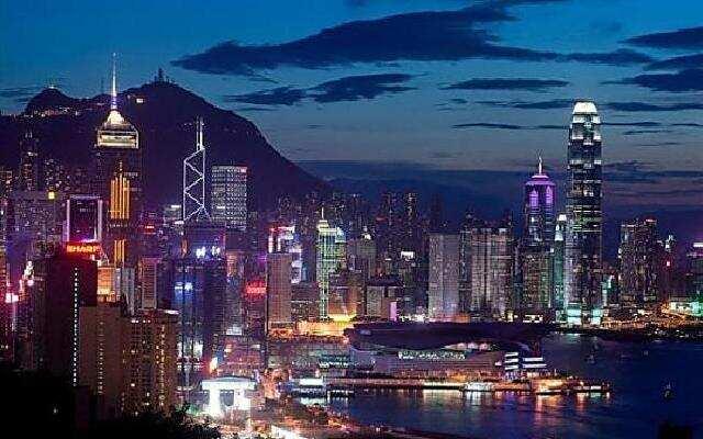 香港的夜景