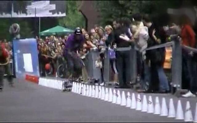 滑板障碍的最快世界纪录!这还是人类吗