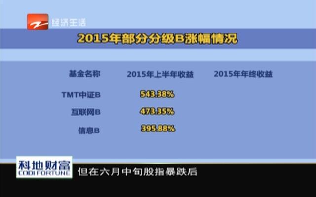 20160115《财富新密码》:奔跑吧2016——分级基金