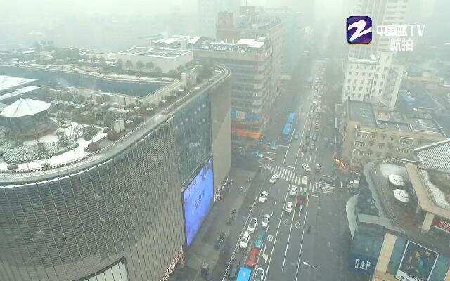 真正意义上的霸王级暴雪初临杭城
