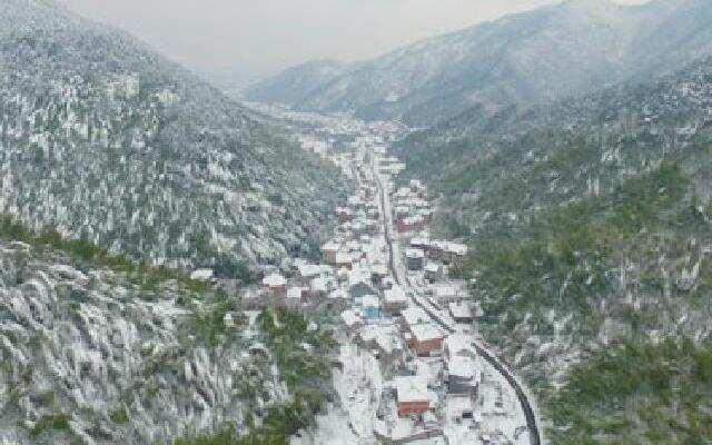 降雪洗礼浙江 雪景如仙境