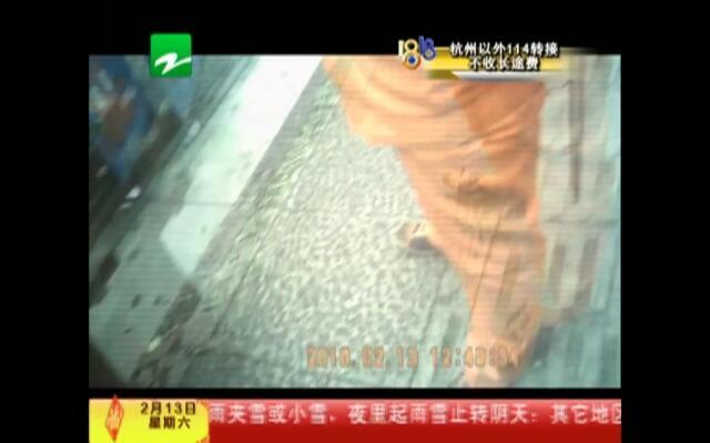 春节假冒停车收费员 被警察当场抓获