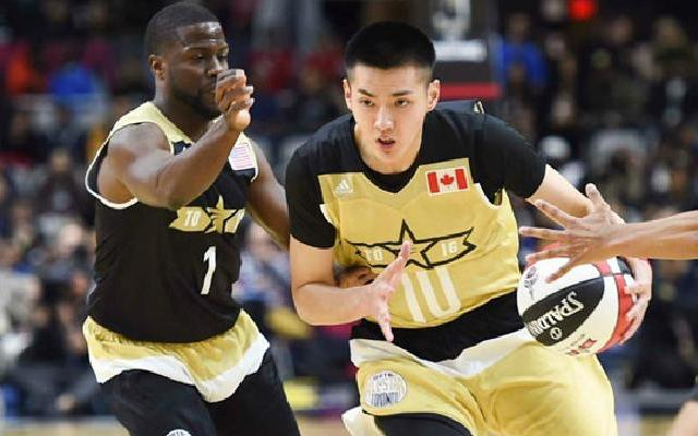 NBA名人赛吴亦凡6分7篮板精彩集锦