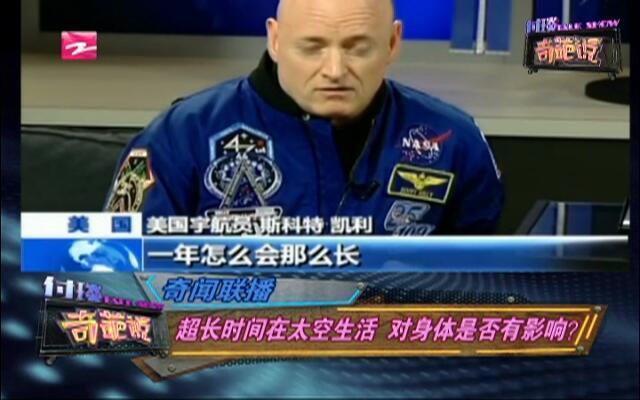 奇闻联播:超长时间在太空生活  对身体是否有影响?