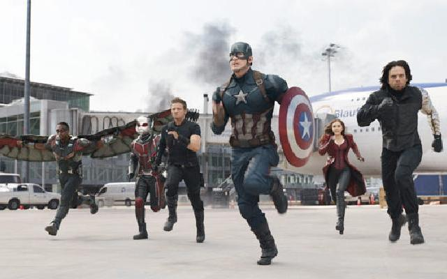 """《美国队长3:英雄内战》中国预告片:美队钢铁侠""""毁灭""""世界?"""