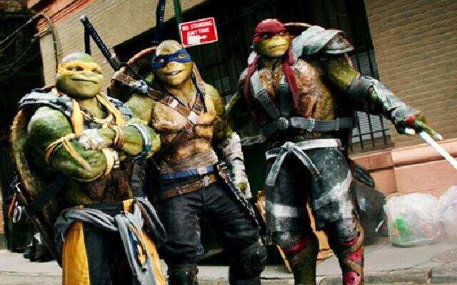 """《忍者神龟2:破影而出》中国预告片:""""二货""""神龟归来打怪"""