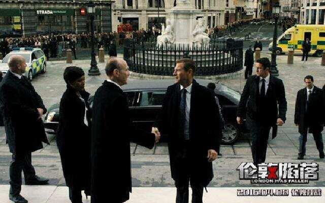《伦敦陷落》片段之美国总统被绑架遭最大胆直播