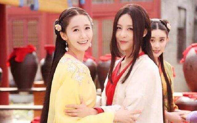 林允儿贾青为爱争宠大揭秘  《武神赵子龙》花絮