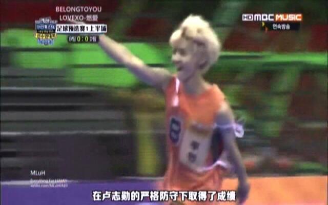 分享一个足球小将鹿晗 除了歌手最想成为足球运动员!