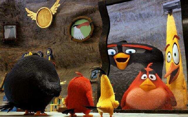 愤怒的小鸟 明星版宣传片