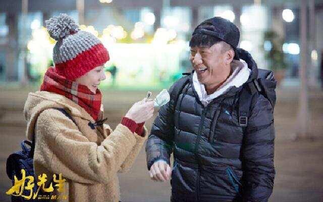 孙红雷齐刘海爆红  网友:地主家的傻儿子