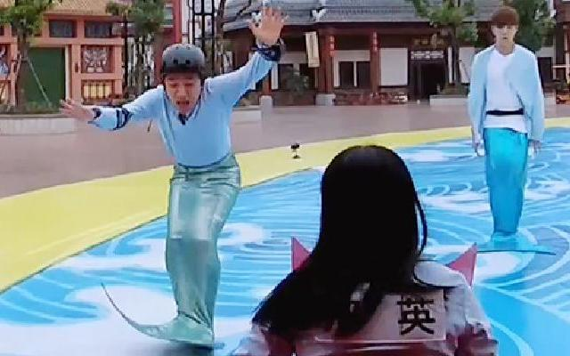 鹿晗使坏陷害王祖蓝