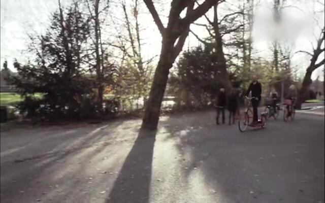 这种漫步车好有趣,看着这么流畅好爽!