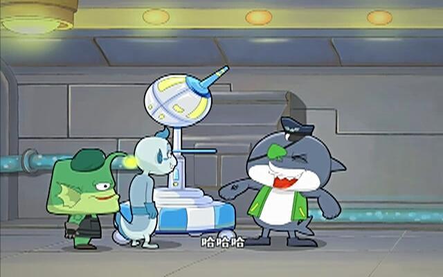 蓝巨星和绿豆鲨 第23集