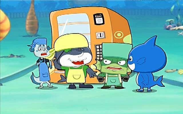 蓝巨星和绿豆鲨 第80集
