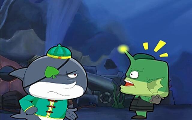 蓝巨星和绿豆鲨 第85集
