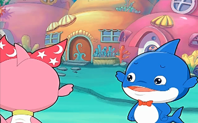 蓝巨星和绿豆鲨 第70集