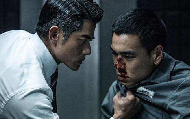 《寒战2 》终极预告片:三大影帝玩混战