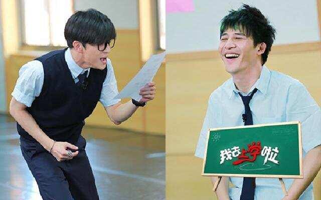 第二季《我去上学啦》第5期:薛之谦大张伟段子PK  张丹峰练芭蕾别虐惨
