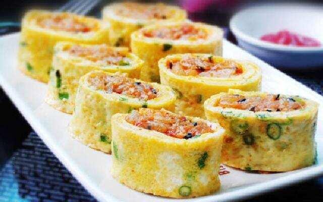 西红柿鸡蛋卷的高能做法
